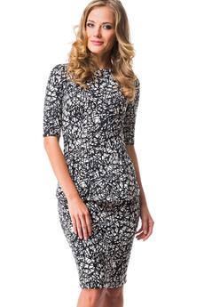 Костюм: юбка и кофта с рукавом 2/4 Mondigo