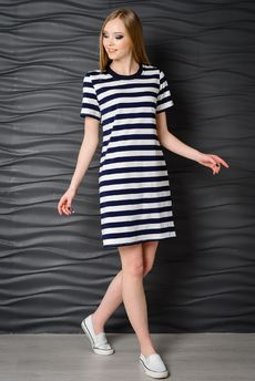 Платье-футболка FIORITA